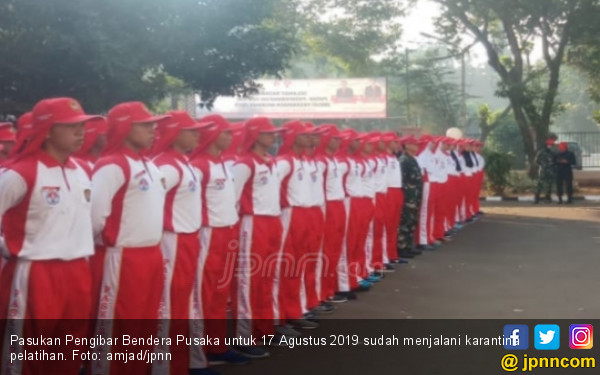 Presiden Jokowi Dikabarkan Bakal Kunjungi Pelatihan Paskibraka di Cibubur - JPNN.com