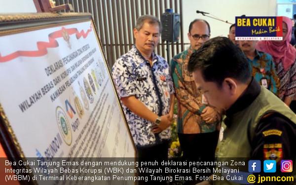 Bea Cukai Tanjung Emas Dukung Deklarasi Pencanangan WBK-WBBM - JPNN.com