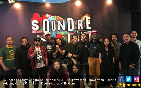 7 Kolaborasi Spesial dalam Soundrenaline 2019 - JPNN.com