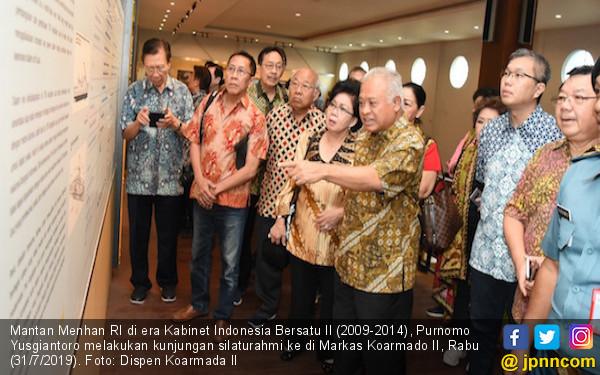 Eks Menhan Berkunjung ke Markas Komando Armada II, Nih Agendanya - JPNN.com