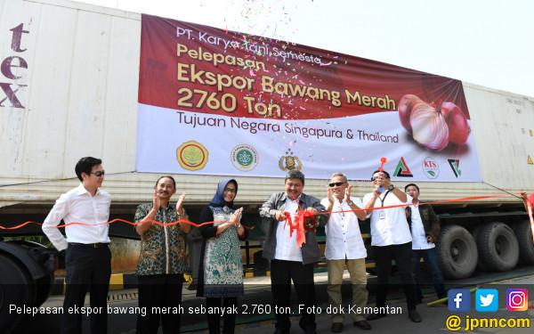 Indonesia Terus Genjot Ekspor Bawang Merah Ke Berbagai Negara - JPNN.com