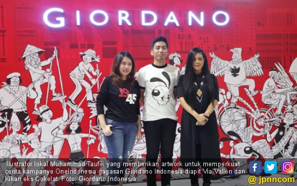 Kampanyekan OneIndonesia, Giordano Angkat Nilai Kebanggaan pada Bangsa - JPNN.com