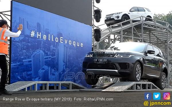 Range Rover Evoque Terbaru Punya Teknologi Kap Mesin Transparan - JPNN.com