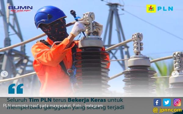 Buntut Mati Lampu 4 Agustus, Gaji Karyawan PLN Bakal Dipotong - JPNN.com