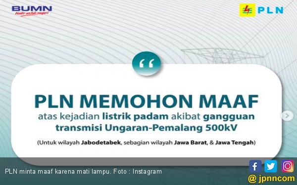 Beda Pejabat Indonesia dan Luar Negeri Saat Ibu Kota Dilanda Mati Lampu - JPNN.com
