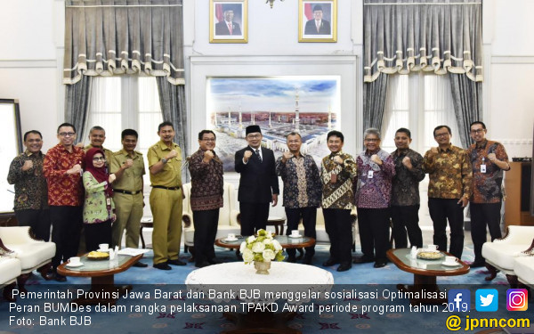 Bank BJB Optimalkan Peran BUMDes di Jawa Barat - Ekonomi ...