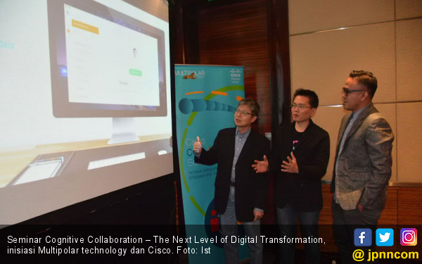 Multipolar Technology Dorong Transformasi Digital dengan Cognitive Collaboration - JPNN.com