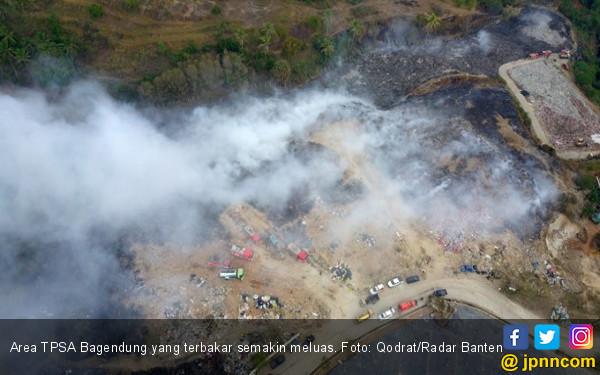 Area Kebakaran TPSA di Cilegon Meluas - JPNN.com