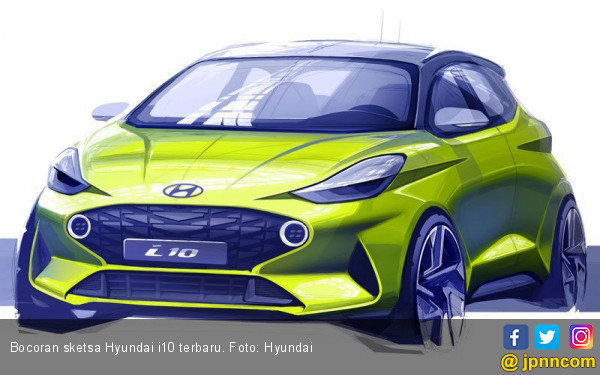 Hyundai i10 Terbaru Memilih Debut di Frankfurt Motor Show 2019 - JPNN.com