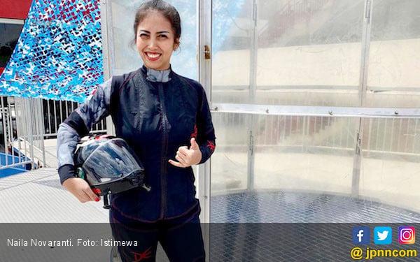 Naila Novaranti Berburu Spot Terjun Payung ke Taiwan - JPNN.com