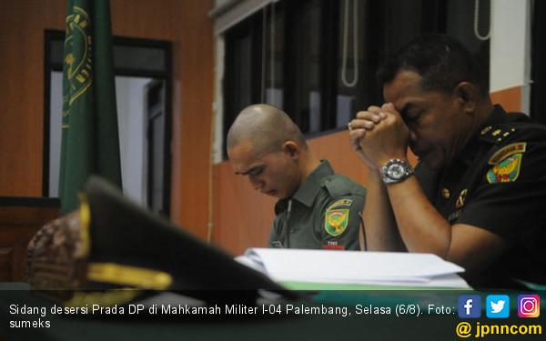 Prada DP Dituntut Oditur Militer Empat Bulan Penjara - JPNN.com