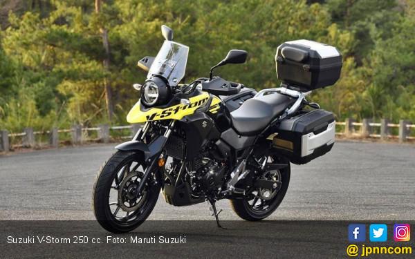 Suzuki V-Storm Jajaki Pasar Motor Dual-Purpose 250 Cc - JPNN.com