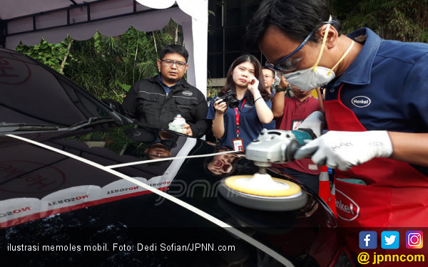 Memoles Mobil Sendiri di Rumah, Boleh Asal.. - JPNN.com