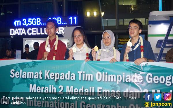Indonesia Juara Umum Olimpiade Geografi Internasional 2019 - JPNN.com