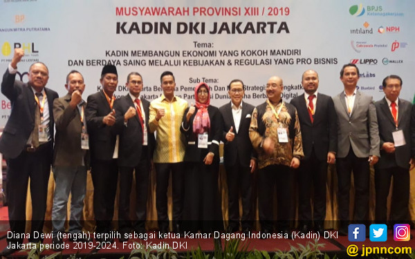 Pimpin Kadin DKI, Diana Dewi Bakal Kembangkan Usaha Anggota - JPNN.com