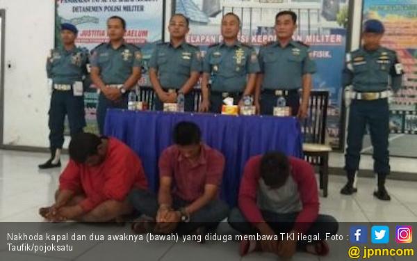 Lanal TBA Gagalkan Upaya Penyeludupan Puluhan TKI Ilegal ke Malaysia - JPNN.com