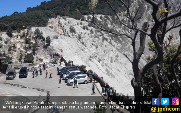 Status Gunung Tangkuban Parahu Masih Waspada - JPNN.com