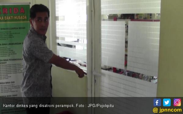 Perampok Sadis Sasar Kantor Dinkes, Satpam dan Penjaga Kantin Disekap - JPNN.com