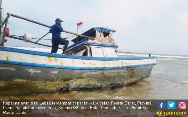 Terombang-ambing di Laut, Tujuh Nelayan Asal Lebak Terdampar di Lampung - JPNN.com