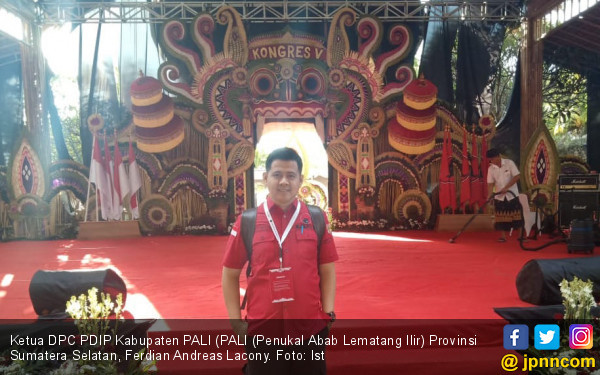 Ferdian Lacony: Pesan Ibu Megawati Jadi Suluh Bagi Kader PDIP - JPNN.com