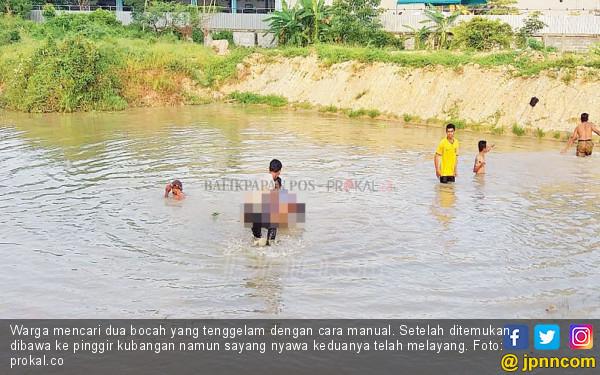 Berenang di Kubangan Berlumpur, Dua Murid SD Tewas Tenggelam - JPNN.com