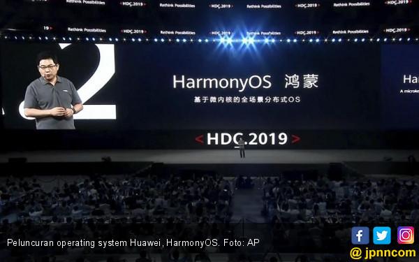 Huawei Klaim 4 Keunggulan HarmonyOS Dibanding Sistem Operasi Android - JPNN.com