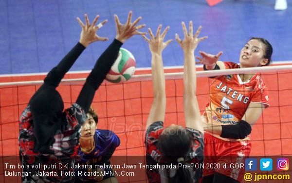 Bikin Jateng Melempem, Tim Voli Putri Jakarta Kampiun Pra-PON 2020 - JPNN.com