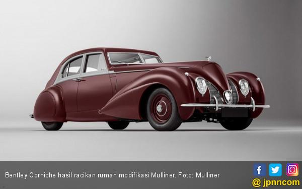 Restorasi Bentley Corniche Sukses Mengembalikan Kemilaunya - JPNN.com
