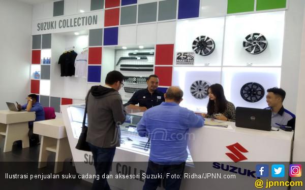 Tren Positif Suku Cadang dan Aksesori Suzuki Berlanjut dengan Promo Hingga September - JPNN.com