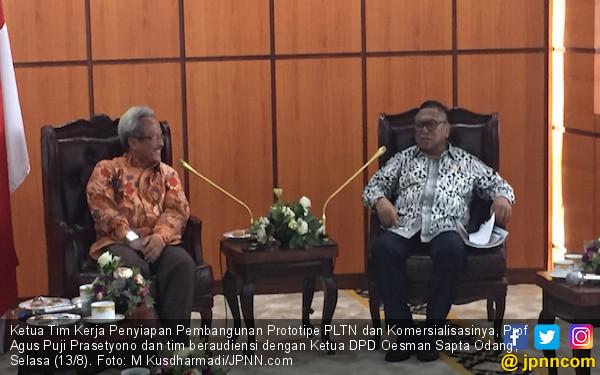 OSO Dukung Rencana Pembangunan PLTN di Kalbar - JPNN.com