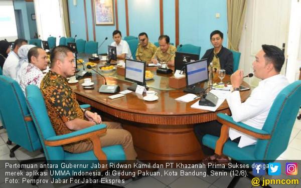 Rancang Program Kerja Keumatan, Pemprov Jabar Kerja Sama dengan UMMA Indonesia - JPNN.com