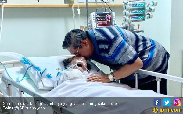 SBY Mohon Doa untuk Kesembuhan Ibunda yang Dirawat di ICU - JPNN.com