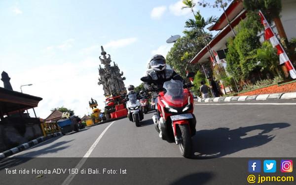 Test Ride Honda ADV 150 di Bali: Otomatis Romantis - JPNN.com
