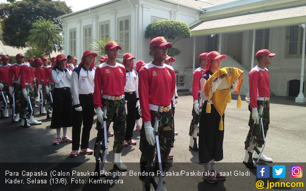 Calon Paskibraka Mulai Masuk Istana untuk Jalani Latihan - JPNN.com