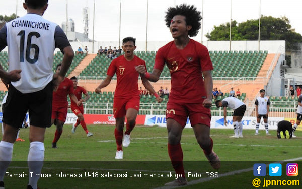 Indonesia 1 vs 1 Myanmar: Bagas Kaffa Cs Pastikan Juara Grup A Piala AFF U-18 - JPNN.com