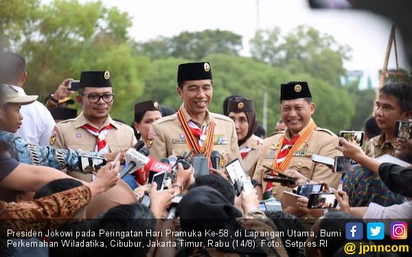 Jokowi Minta Kepala Daerah Dukung Gerakan Pramuka - JPNN.com