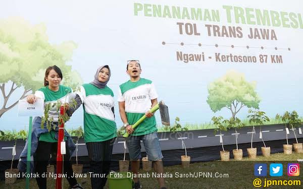 Begini Cara Band Kotak Ajak Fan Kurangi Sampah Plastik - JPNN.com