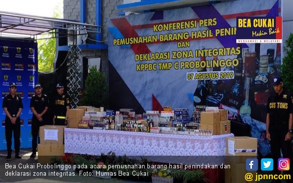 Bea Cukai Probolinggo Berpartisipasi Dalam Pembangunan Zona Integritas - JPNN.com