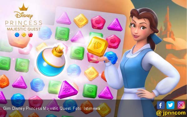 Gameloft Luncurkan Gim Disney Princess Majestic Quest - JPNN.com