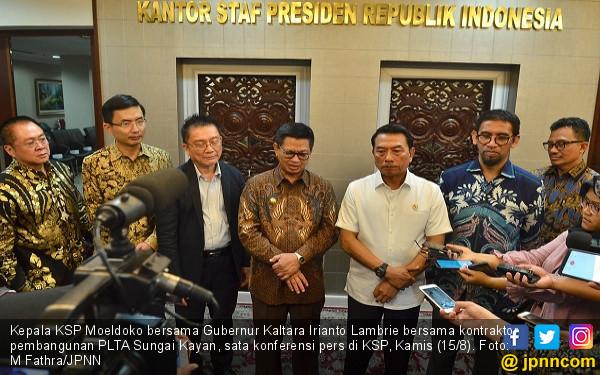 KSP Kawal Pembangunan PLTA Sungai Kayan - JPNN.com