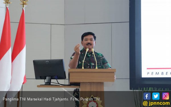Soal Kelompok Anarko, Panglima TNI Marsekal Hadi Tjahjanto Beri Pernyataan Begini - JPNN.com