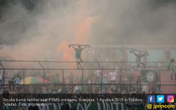 Akibat Ulah Suporter, PSMS Medan Kena Semprit Komdis PSSI - JPNN.com