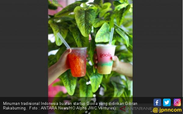 Goola, Usaha Minuman Milik Anak Jokowi Raih Pendanaan Rp71 Miliar - JPNN.com