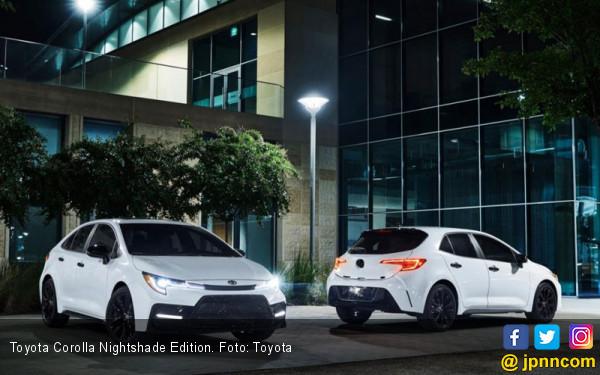 Toyota Bermain Aksen Gelap di Corolla Series, Harga Mulai Rp 350 Jutaan - JPNN.com
