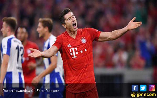 Robert Lewandowski Ukir Rekor Fantastis di Pekan Pertama Bundesliga - JPNN.com