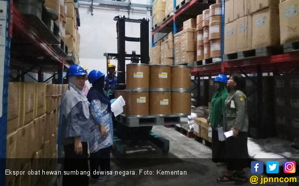 Kementan Sebut Ekspor Obat Hewan Sumbang Devisa Rp 26 Triliun - JPNN.com