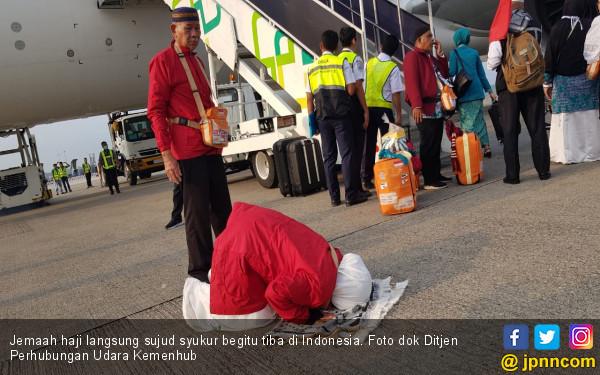 Sambut Kepulangan Para Jemaah Haji, Dirjen Hubud: Kami Lakukan yang Terbaik - JPNN.com