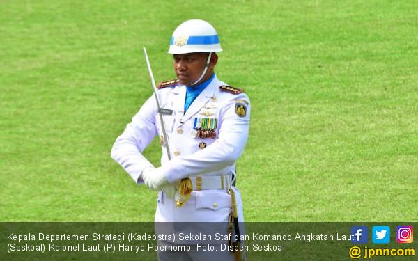 Selamat! Kolonel Laut Hariyo Poernomo Ukir Prestasi Gemilang - JPNN.com