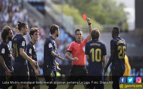 Real Madrid Ajukan Banding Kartu Merah Luka Modric - JPNN.com