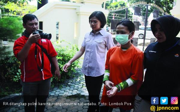 Wanita Muda Ini Konsumsi Sabu-Sabu Biar Lebih Bergairah - JPNN.com